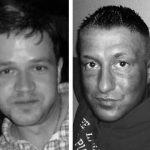 """Marten Geron, Ronny Lumaschi, Ronny Zick, Split-CD von """"Nordmacht"""" und """"Bataillon 500"""""""